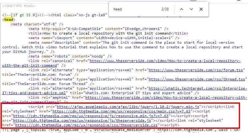 website performance JavaScript