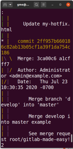 git log graph pretty