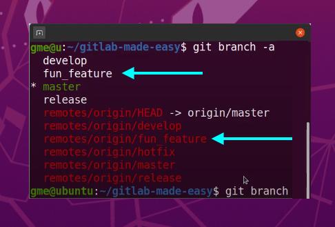 remove remote GitLab branch