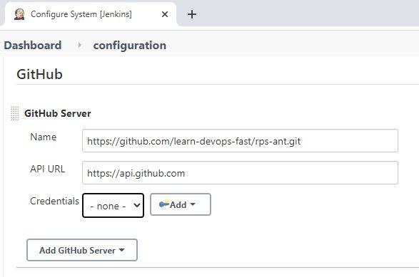 Jenkins with GitHub configuration