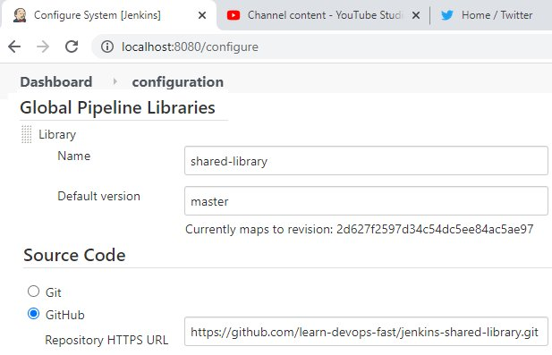 Jenkins shared library example