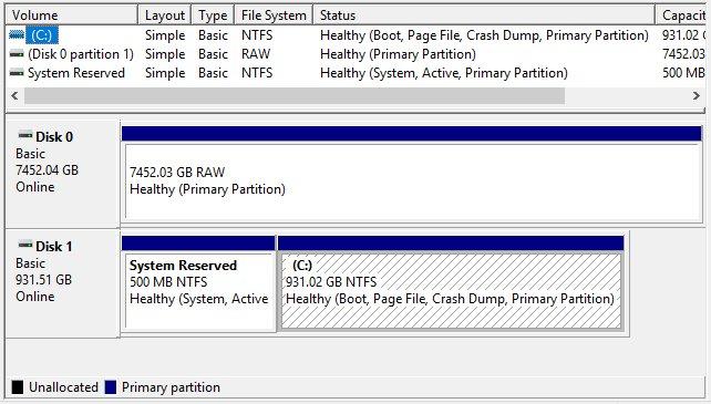 remove & delete recovery partition