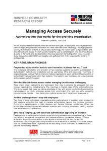 Managing access security thumbnail
