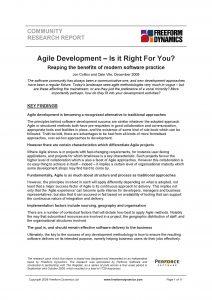 Agile report thumbnail