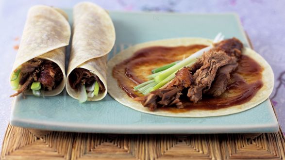 Nom, nom, nom... crispy duck, pass the plum sauce please. Image Credit: ShortList